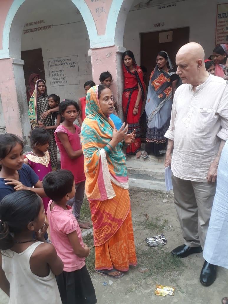 Save a mother support in Muzaffarpur District