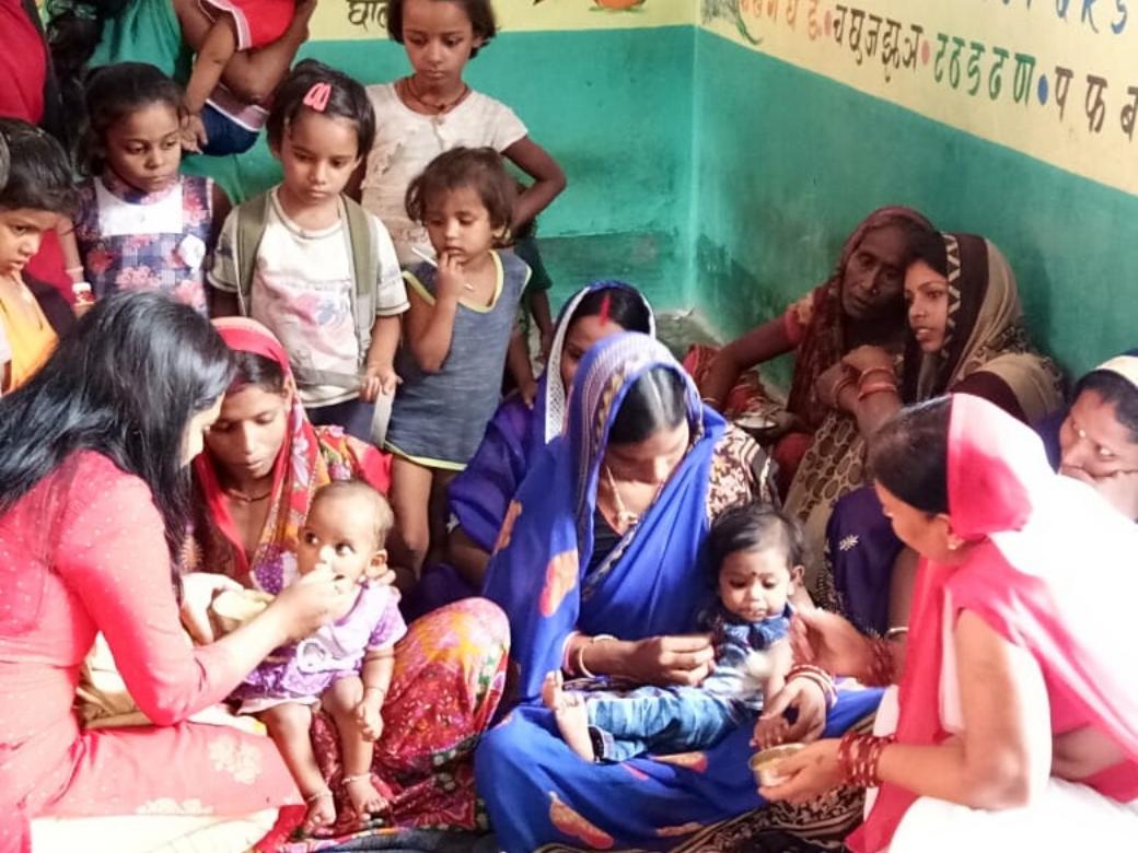 Save A Mother Bugle blows strong at Muzaffarpur, Bihar