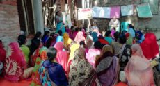SAM leaders from the USA visit Varanasi slum.