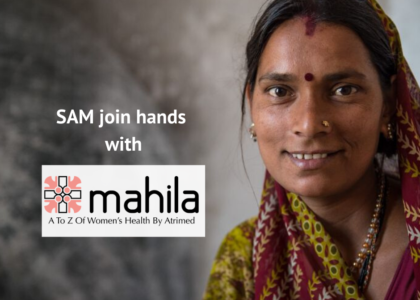SAM join hands with Mahila by Atrimed