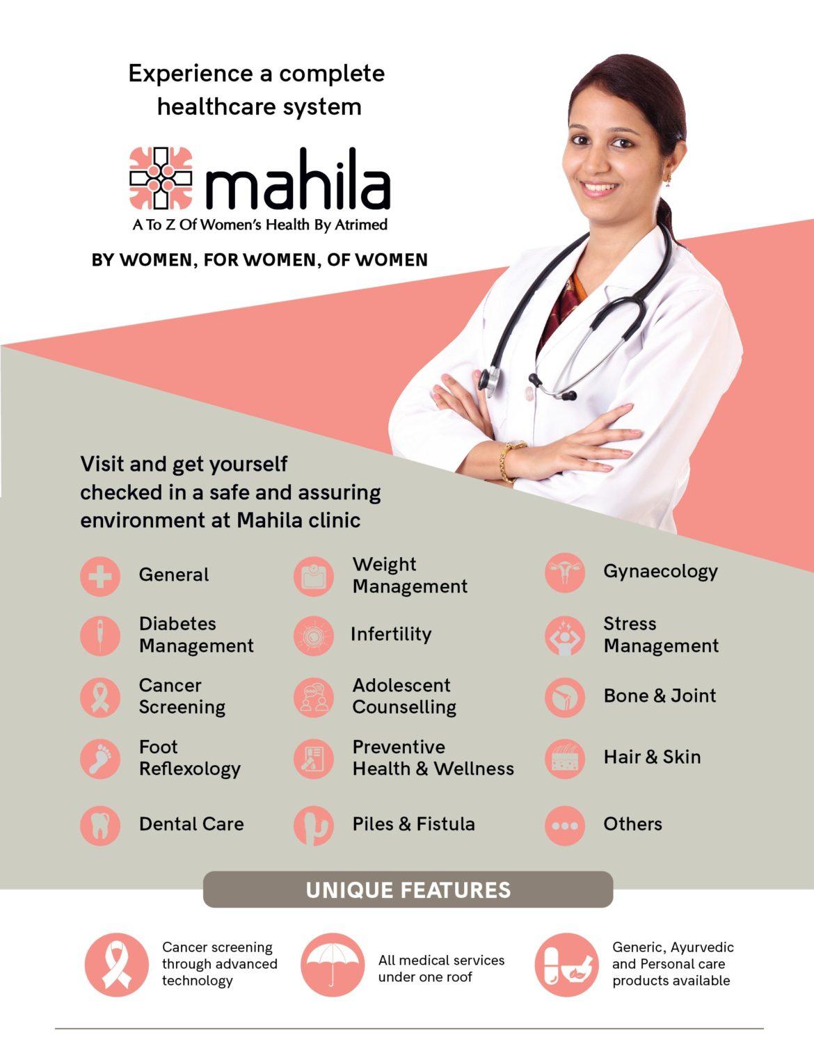 Collaboration with Mahila Clinics
